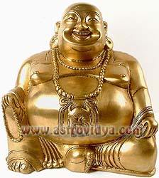 Laughing Buddha may bring happiness to you
