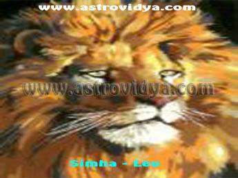 Simha (Leo) personality in grater detial